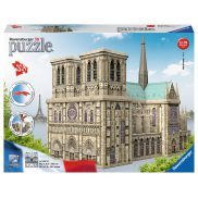 Ravensburger - Puzzle 3D Katedra Notre-Dame 324 elem. 125234
