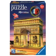 Ravensburger - Puzzle 3D Łuk Triumfalny Night Edition 216 elem. 125227