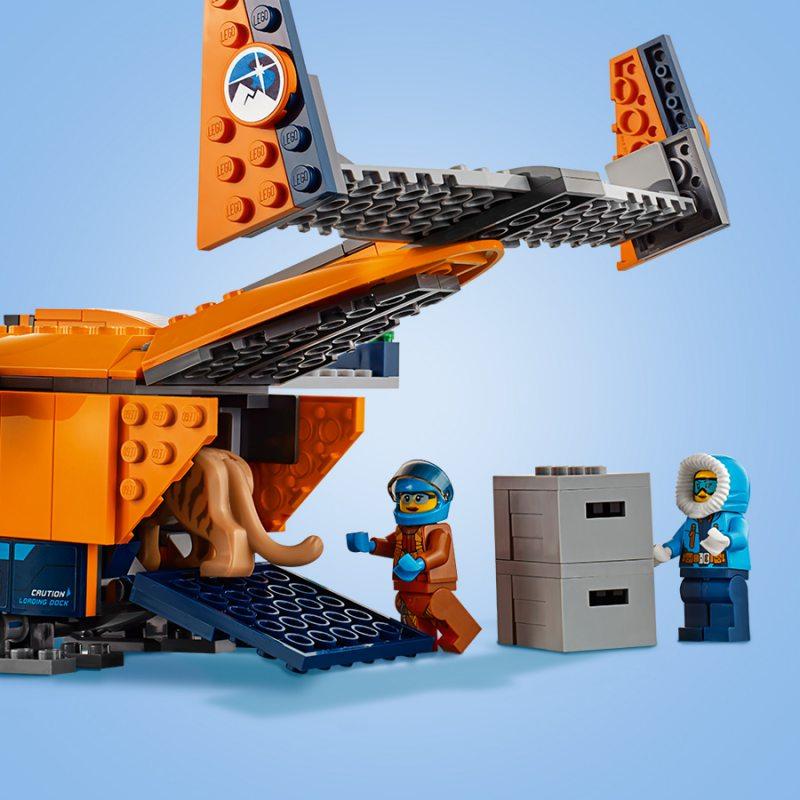 Lego City Arktyczny Samolot Dostawczy 60196