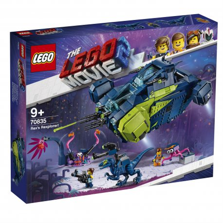 LEGO Movie - Rexplorer Rexa! 70835