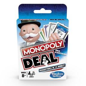 Hasbro - Gra Monopoly Deal Wersja Polska E3113