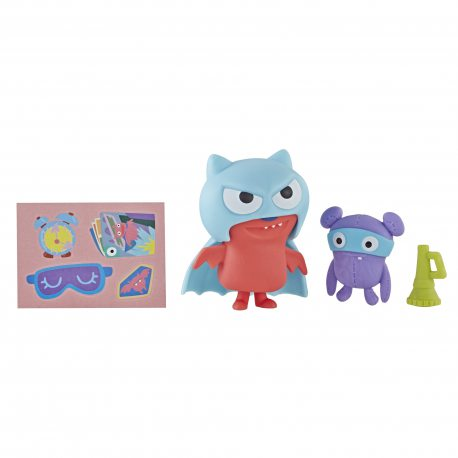 Ugly Dolls - Figurka z akcesoriami Super Lucky Bat E4543