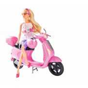 Simba Steffi LOVE - Lalka Steffi na skuterze 5730282