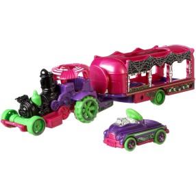Hot Wheels - Ciężarówka + Samochód Car-Nival Steamer FKW90