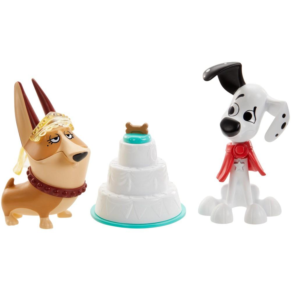 Mattel Ulica 101 Dalmatyńczyków - Figurki Dylan i Clarissa 2-Pak Psie Wesele GBM40