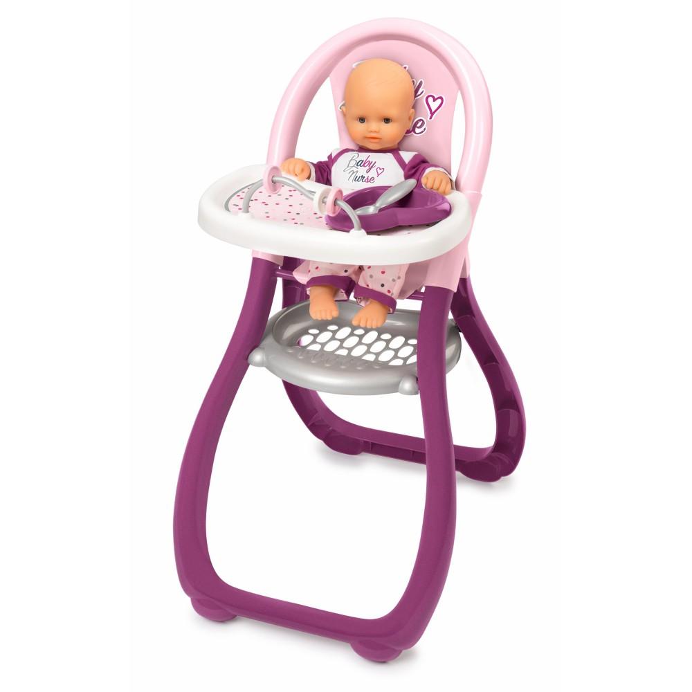 Smoby Baby Nurse - Krzesełko dla lalki do karmienia 220342