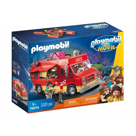 Playmobil - The Movie Food Truck Del'a 70075