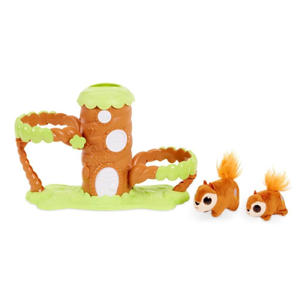 Little Tikes - Springlings Surprise Domek na drzewie i 2 Sprężypluszaki 649806