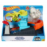 Hot Wheels City - Zestaw Lotnisko Atak Pterozaura GBF94