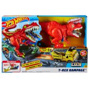 Hot Wheels City - Zestaw Atak T-Rexa GFH88