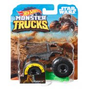 Hot Wheels Monster Truck - Metalowy pojazd Star Wars Chewbacca GGT47
