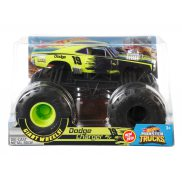 Hot Wheels Monster Truck - Metalowy Pojazd Dodge Charger R/T 19 Skala 1:24 GBV35