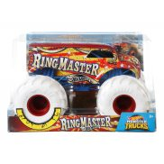 Hot Wheels Monster Truck - Metalowy Pojazd Ring Master Skala 1:24 GCX16
