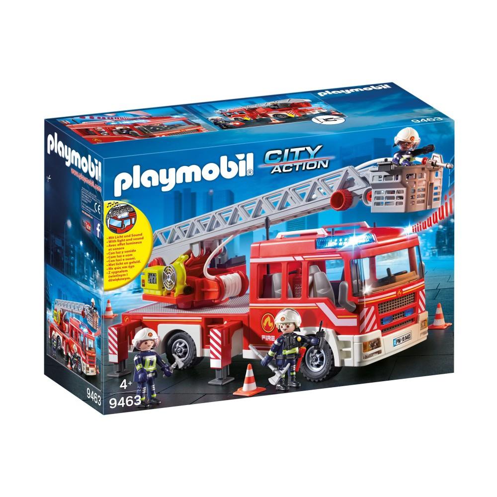 Playmobil - Samochód strażacki z drabiną 9463