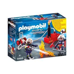 Playmobil - Strażacy z gaśnicą 9468