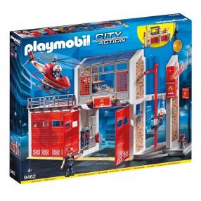 Playmobil - Duża remiza strażacka 9462
