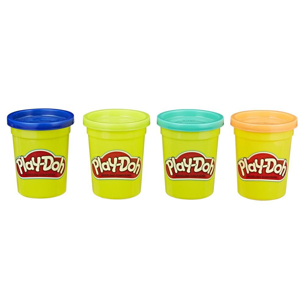Play-Doh - Tuby uzupełniające 4-pak Wild E4867