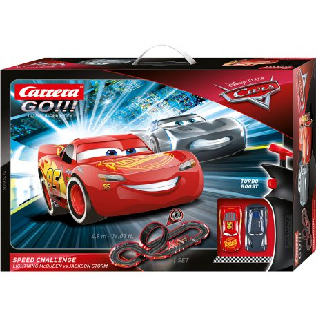 Carrera GO!!! - Disney Auta Cars - Speed Challenge 62476