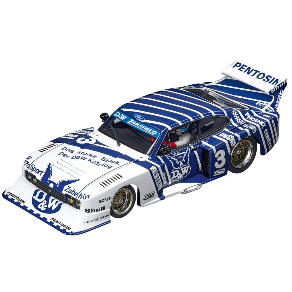 """Carrera DIGITAL 132 - Ford Capri Zakspeed Turbo """"D&W-Zakspeed Team, No.3"""" 30887"""