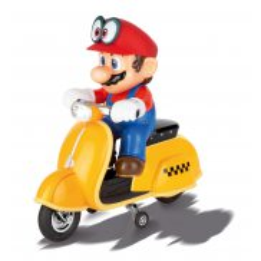 Carrera RC - Super Mario Odyssey Skuter, Mario 2.4GHz 1:20 200992