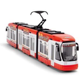 Dickie City - Tramwaj City Liner Czerwony 46 cm 3749017 A
