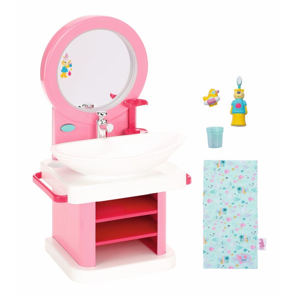 BABY born - Zestaw do mycia zębów Toaletka Umywalka 827093