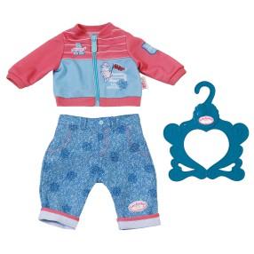 Baby Annabell - Ubranko dresik dla lalki Niebiesko - koralowe 701430 B