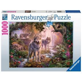 Ravensburger - Puzzle Wilki w lecie 1000 elem. 151851