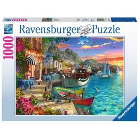 Ravensburger - Puzzle Greckie Nadbrzeże 1000 elem. 152711