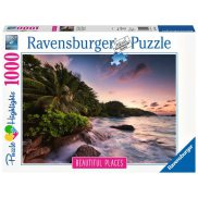 Ravensburger - Puzzle Wyspa Praslin, Seszele 1000 elem. 151561