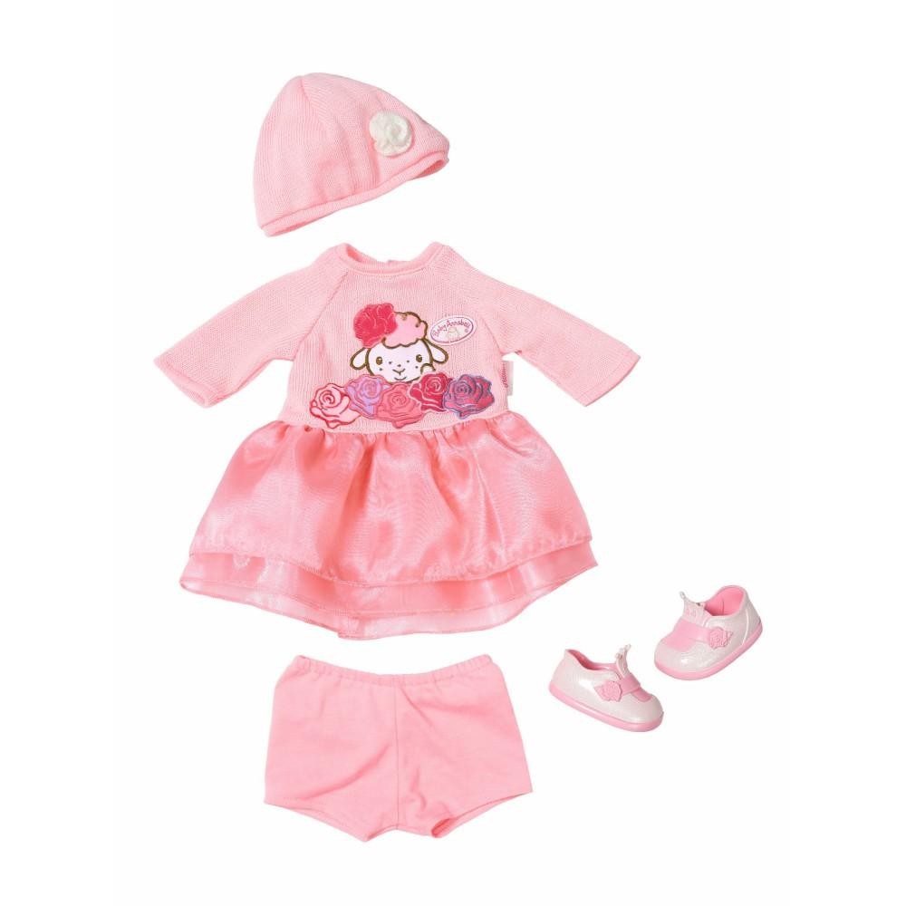 Baby Annabell - Dzianinowe ubranko Zestaw deluxe dla lalki 39-46 cm 701966