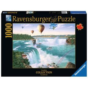 Ravensburger - Puzzle Wodospad Niagara 1000 elem. 198719
