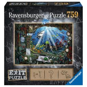 Ravensburger - Puzzle Exit Łódź Podwodna 759 elem. 199532