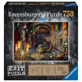 Ravensburger - Puzzle Exit Zamek Rycerski 759 elem. 199556