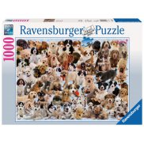 Ravensburger - Puzzle Wielka Rodzina Psów 1000 elem. 156337
