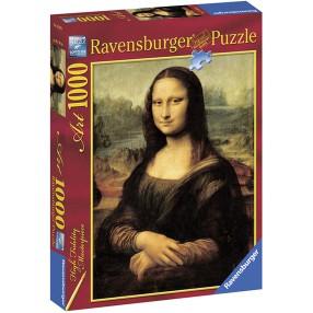Ravensburger - Puzzle Da Vinci Mona Lisa 1000 elem. 152964