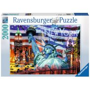 Ravensburger - Puzzle New York Collage 2000 elem. 166879