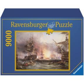 Ravensburger - Puzzle Bombardowanie Algieru 9000 elem. 178063