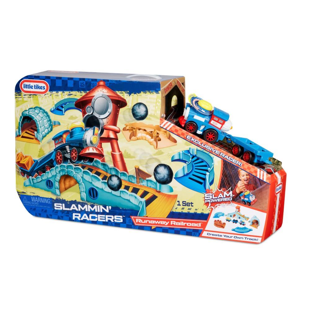 Little Tikes - Slammin' Racers Runaway Railroad Arena z pociągiem 649516