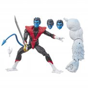 Hasbro Marvel Legends - Figurka 15 cm X-Force Nightcrawler + część Wendigo E6115