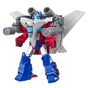 Hasbro Transformers Cyberverse Spark Armor - Elite Class Optimus Prime Sky Turbine E4328