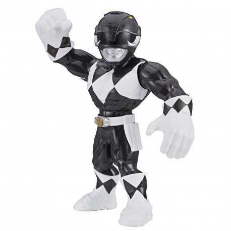 Hasbro Power Rangers - Mega Mighties Figurka 25 cm Czarny Ranger E5873