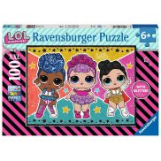 Ravensburger - Puzzle XXL LOL Surprise 100 elem. 128815
