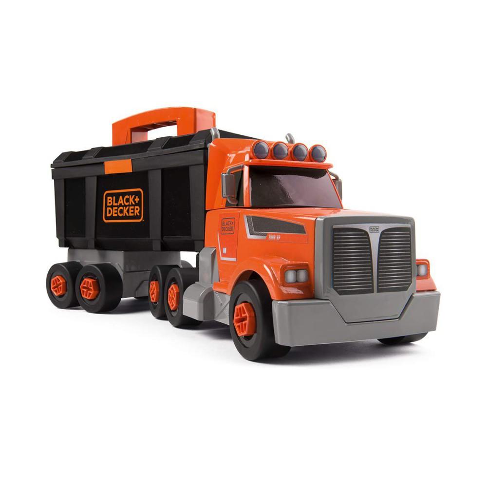 Smoby - Black & Decker Ciężarówka z walizką i narzędziami 360175