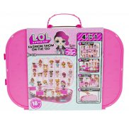 L.O.L. SURPRISE - Walizka dla Lalek LOL 4w1 Bright Pink 562689