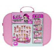 L.O.L. SURPRISE - Walizka dla Lalek LOL 4w1 Light Pink 562696