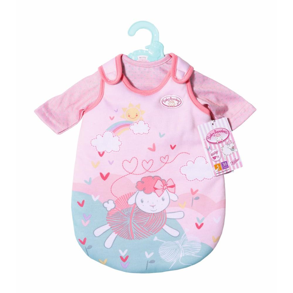 Baby Annabell - Śpiworek Ubranko Zestaw do spania dla lalki 36 cm 701867