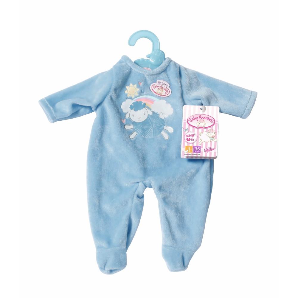 Baby Annabell - Ubranko Pajacyk niebieski dla lalki 36 cm 702420 A