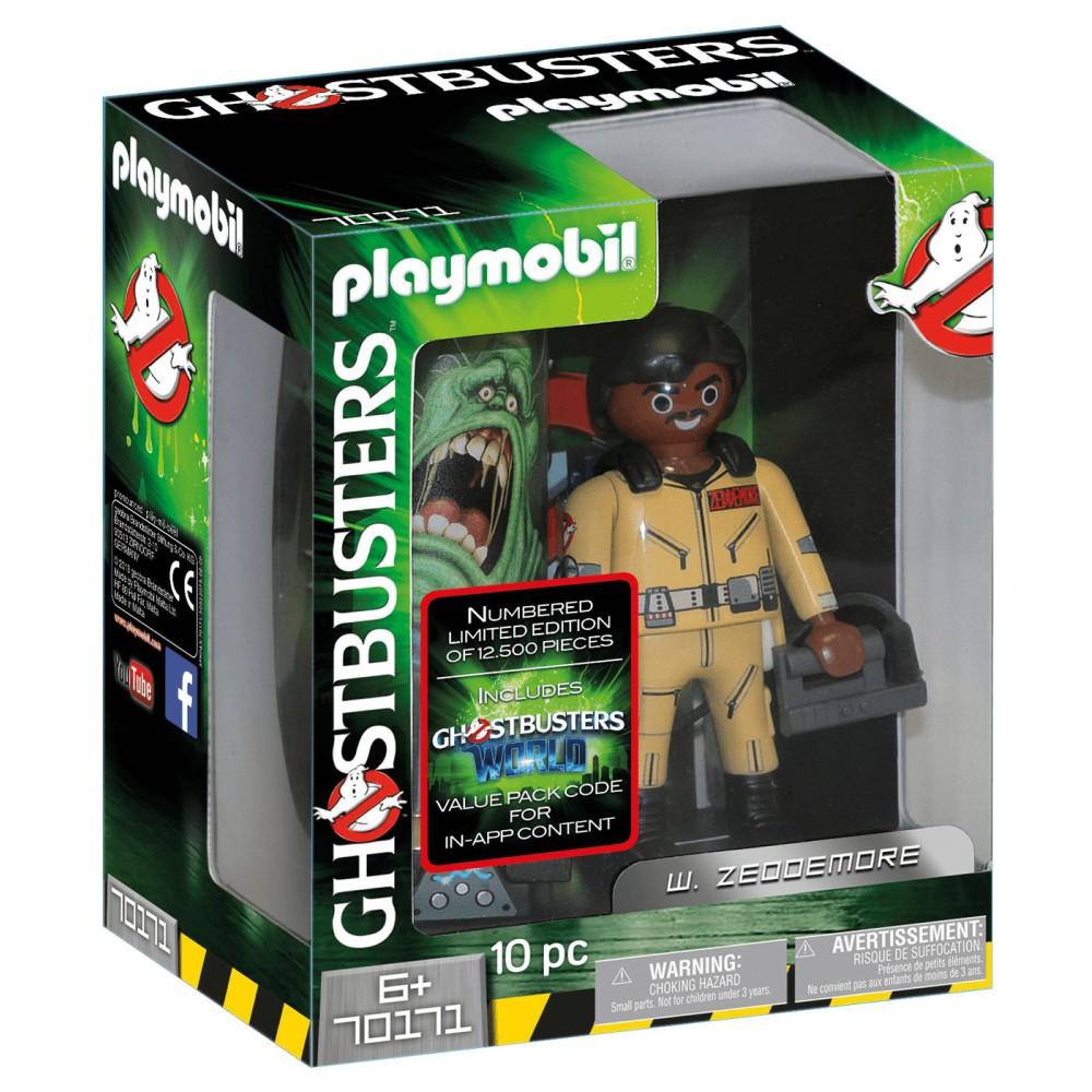 Playmobil - Pogromcy Duchów Figurka do kolekcjonowania W. Zeddemore 70171