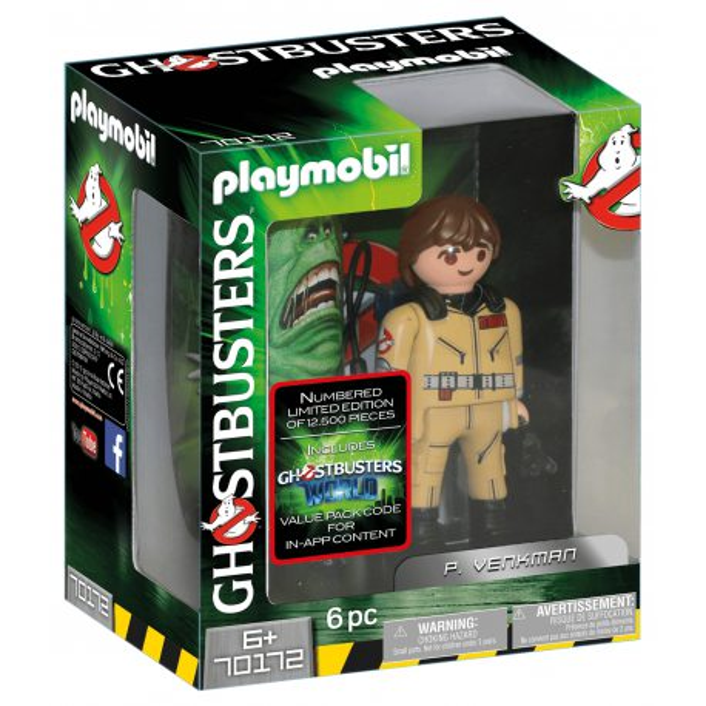 Playmobil - Pogromcy Duchów Figurka do kolekcjonowania P. Venkman 70172